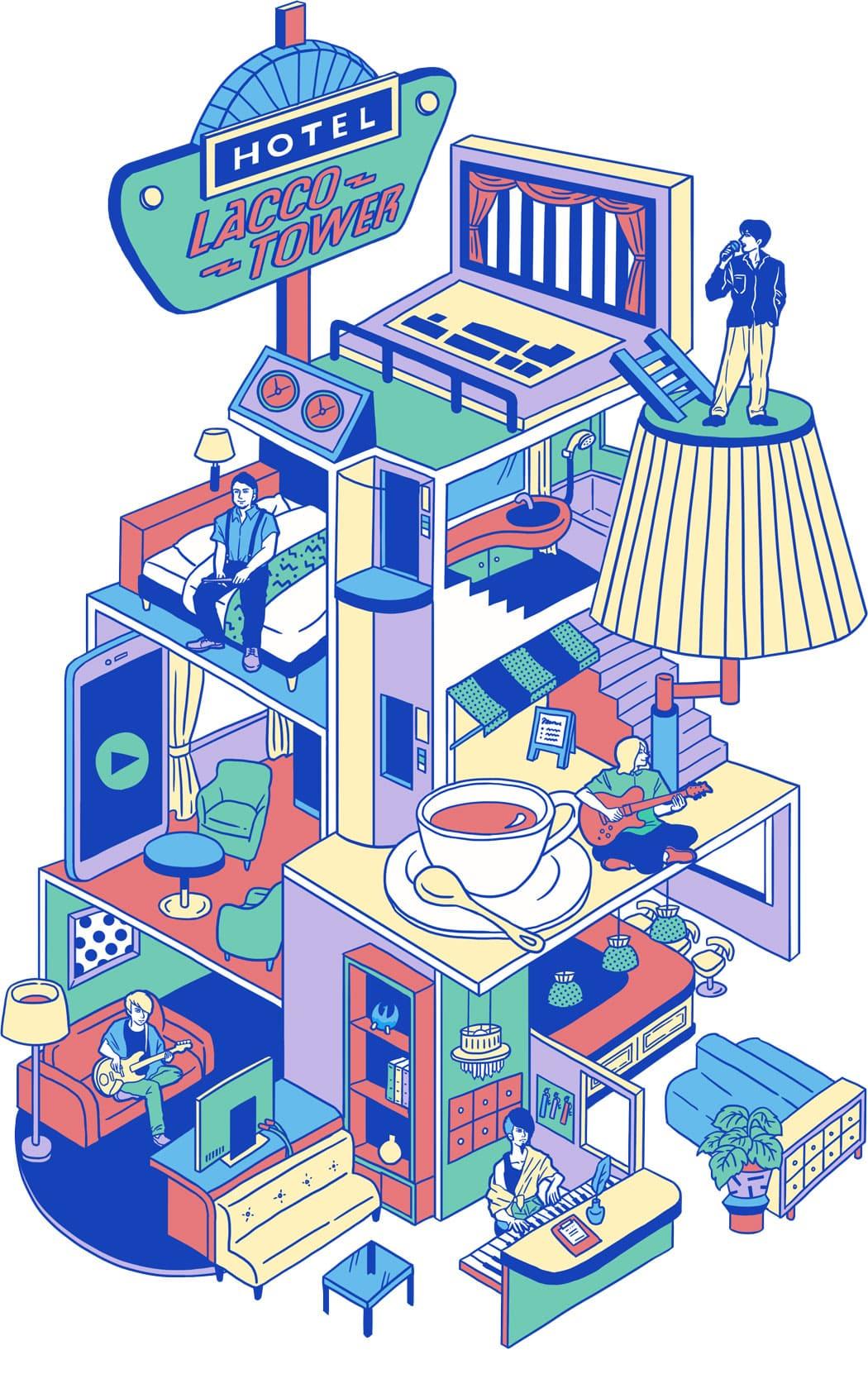 新企画発足!「HOTEL LACCO TOWER(ホテルラッコタワー)」開催決定!!